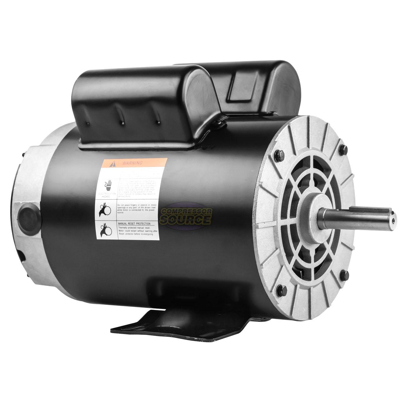 "1~20 HP Compressor Duty Electric Motor 1//3 Phase 3450 RPM 56 Frame 7//8/"" Shaft"
