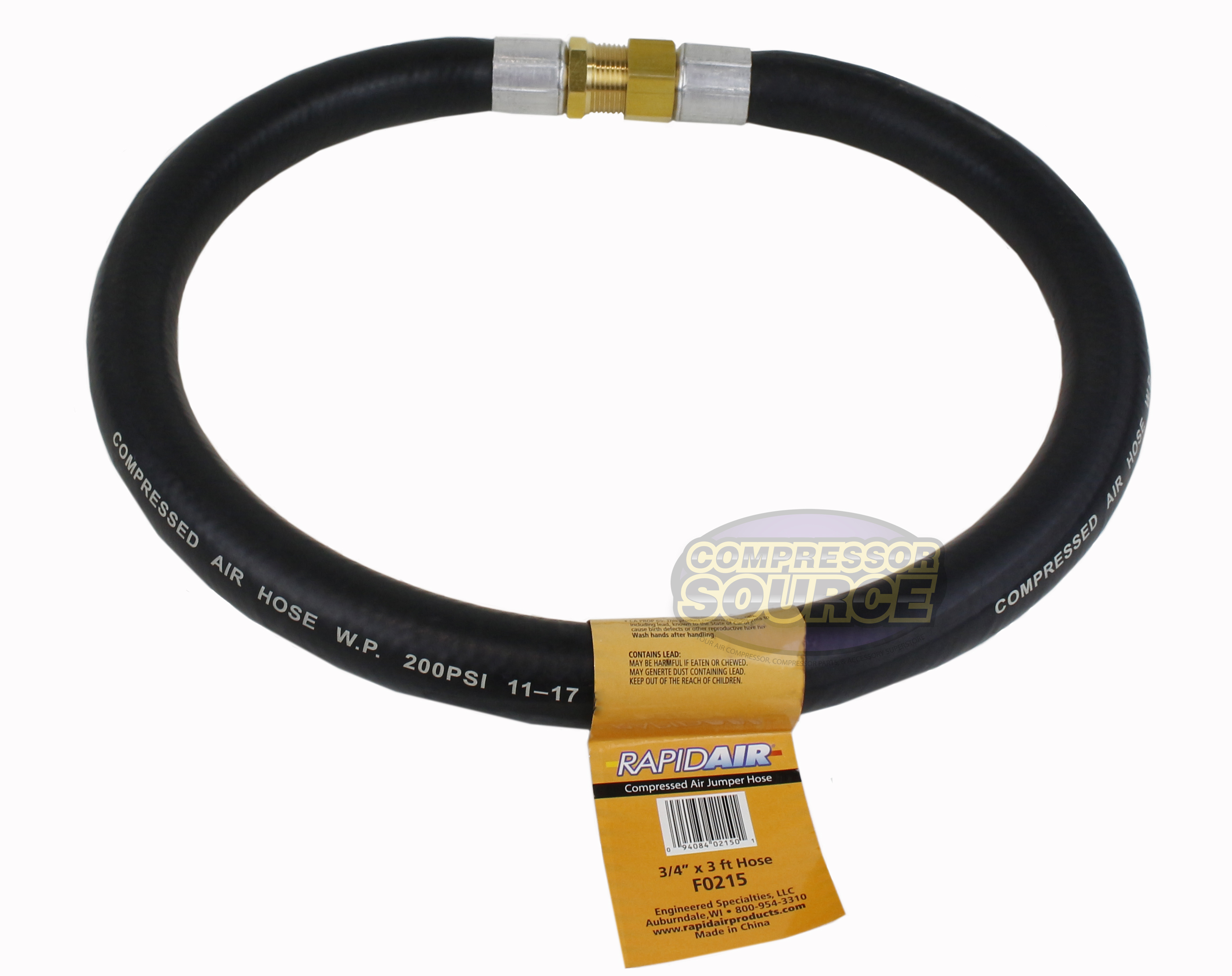 5  x     Replacement  GLASS HOSE WHIPS