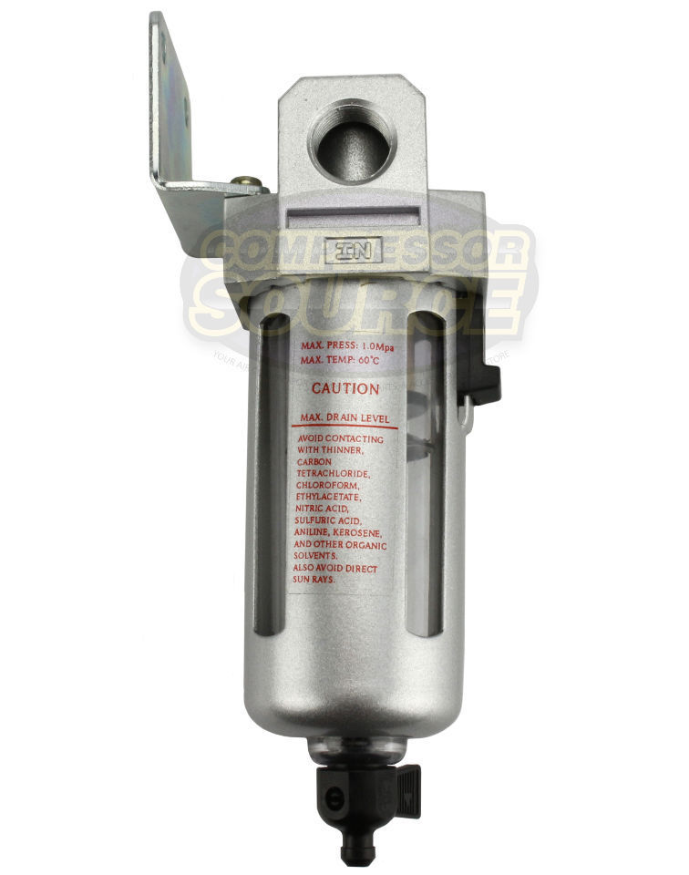3 8 Quot Compressed Air In Line Moisture Amp Water Filter Trap