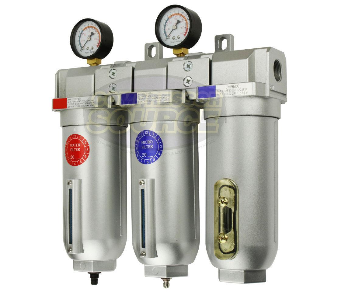 3 4 Quot Inline Compressed Air Filter Desiccant Dryer Moisture