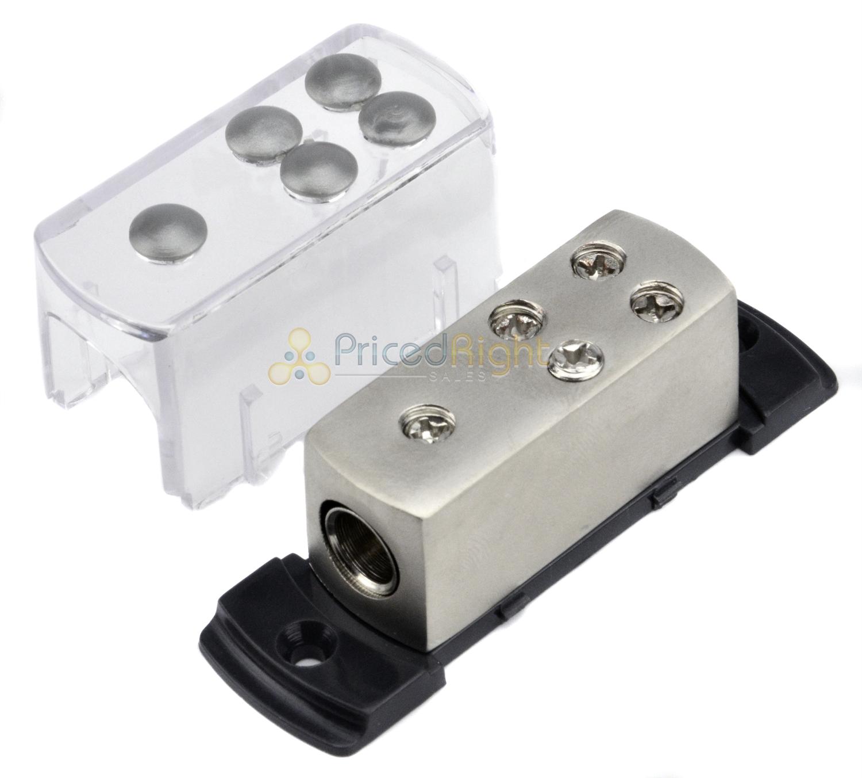 Cool 4 8 Gauge Power Platinum Distribution Block Car Audio Wiring 1 To 4 Wiring 101 Cajosaxxcnl