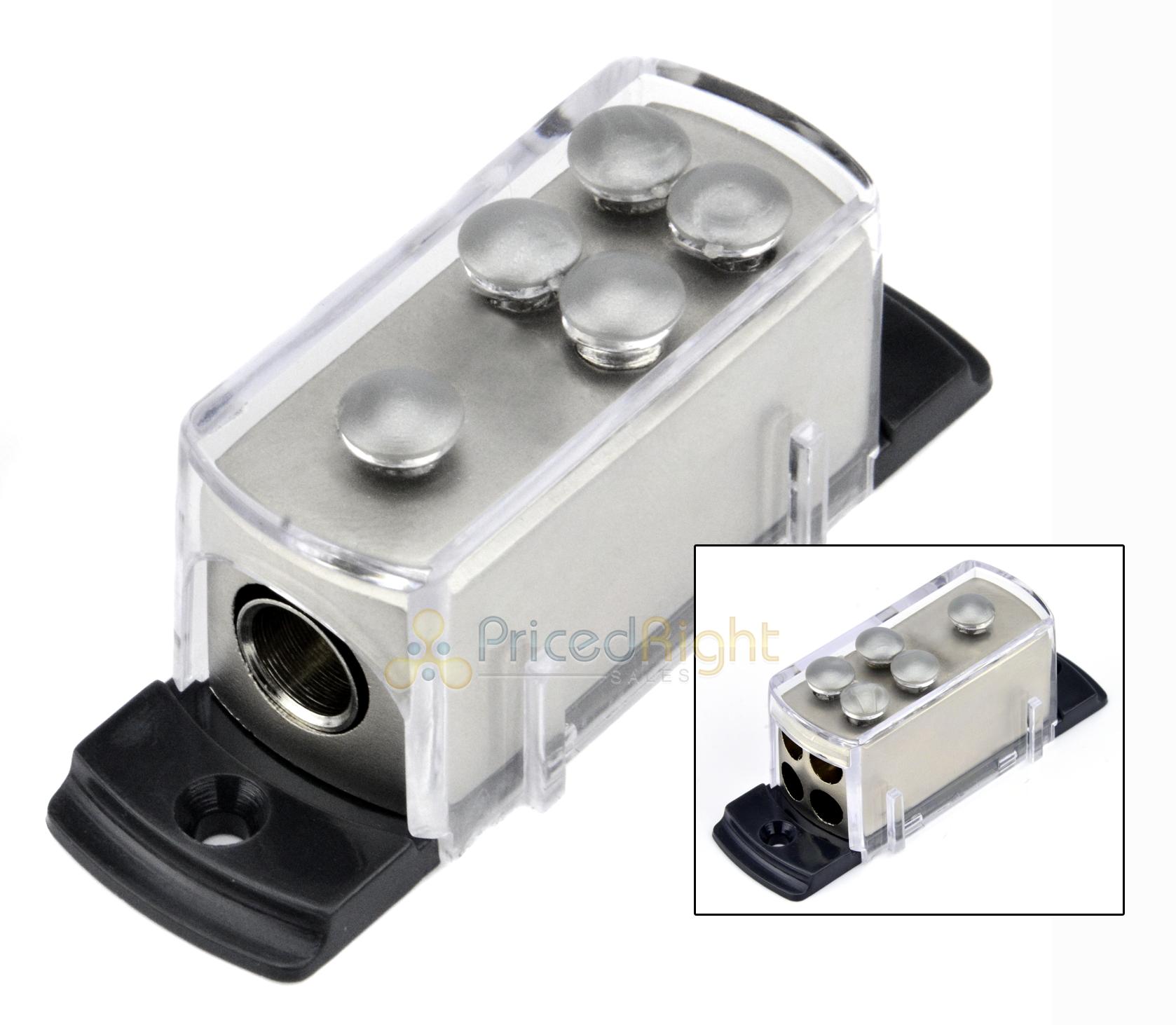4 8 gauge power platinum distribution block car audio wiring 1 to 4 Car Audio Capacitor Wiring 4 8 gauge power platinum distribution block car audio wiring 1 to 4 amp