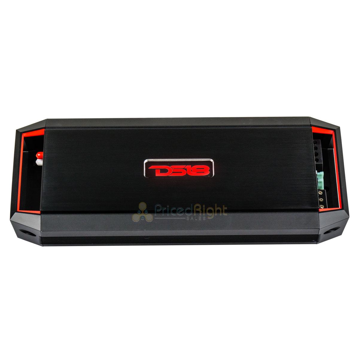 DS18 GEN-X2000.2 2 Channel Car Stereo Audio Amplifier 2000 Watt Speaker//Sub Amp