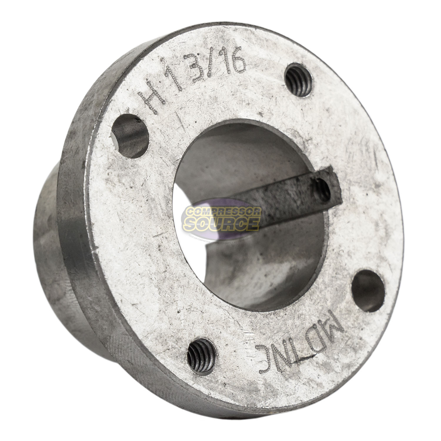 "Cast Iron 10.25/"" 2 Groove Dual Belt A Section 4L Pulley w// 1-1//8/"" Sheave Bushing"