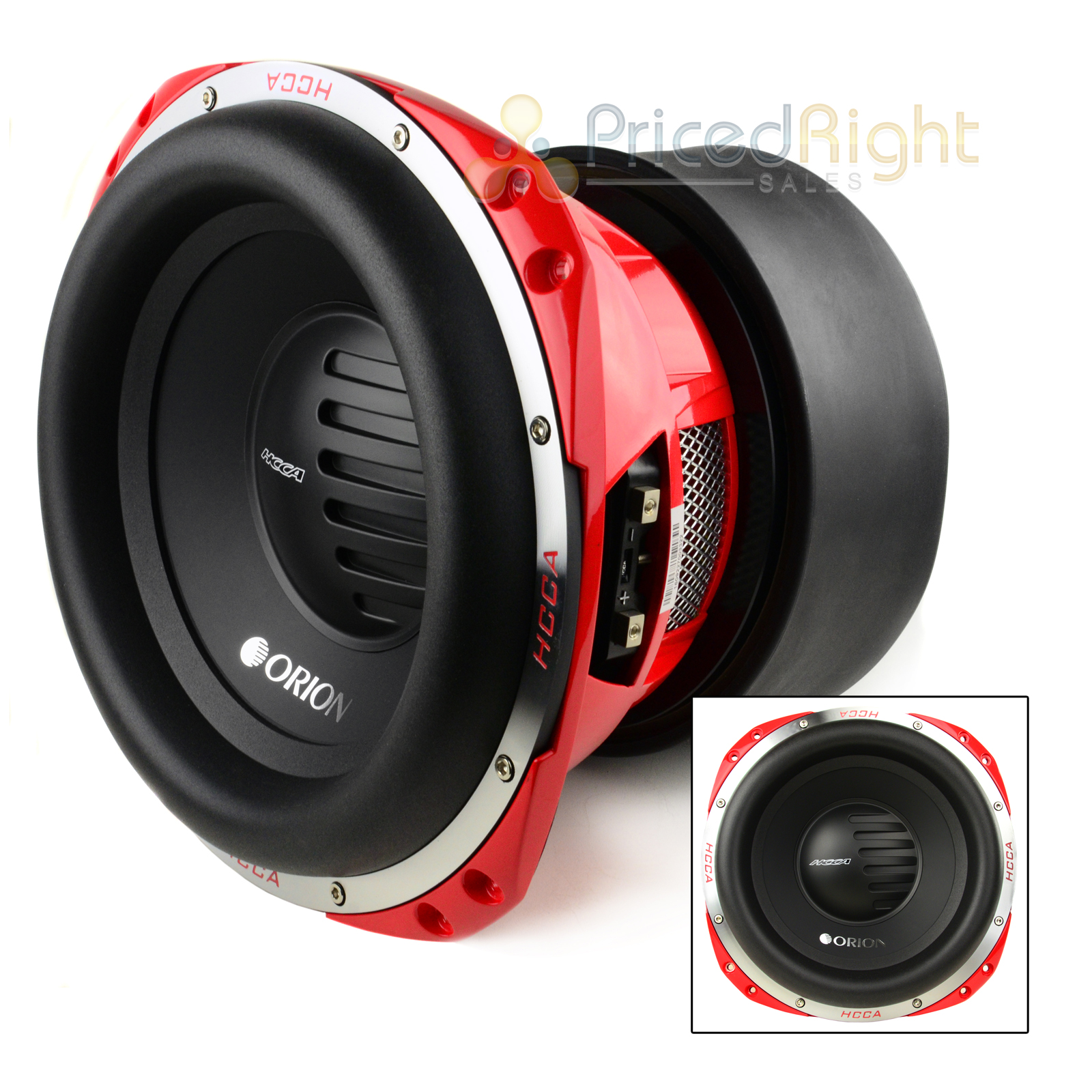 Orion Hcca152 15 U0026quot  Subwoofer 5000 Watt Dual 2 Ohm Voice Coil Bass Competition Sub 93207061493
