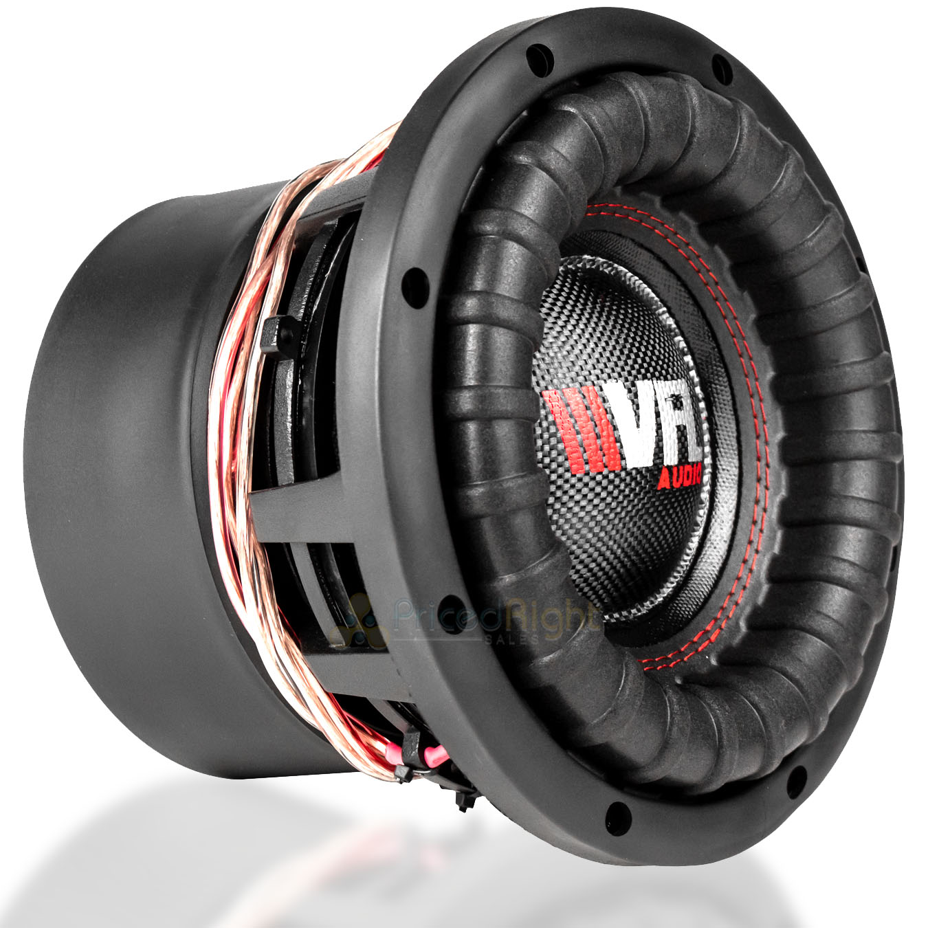 "American Bass VFL8D4 8/"" Competition Woofer 800W Max"