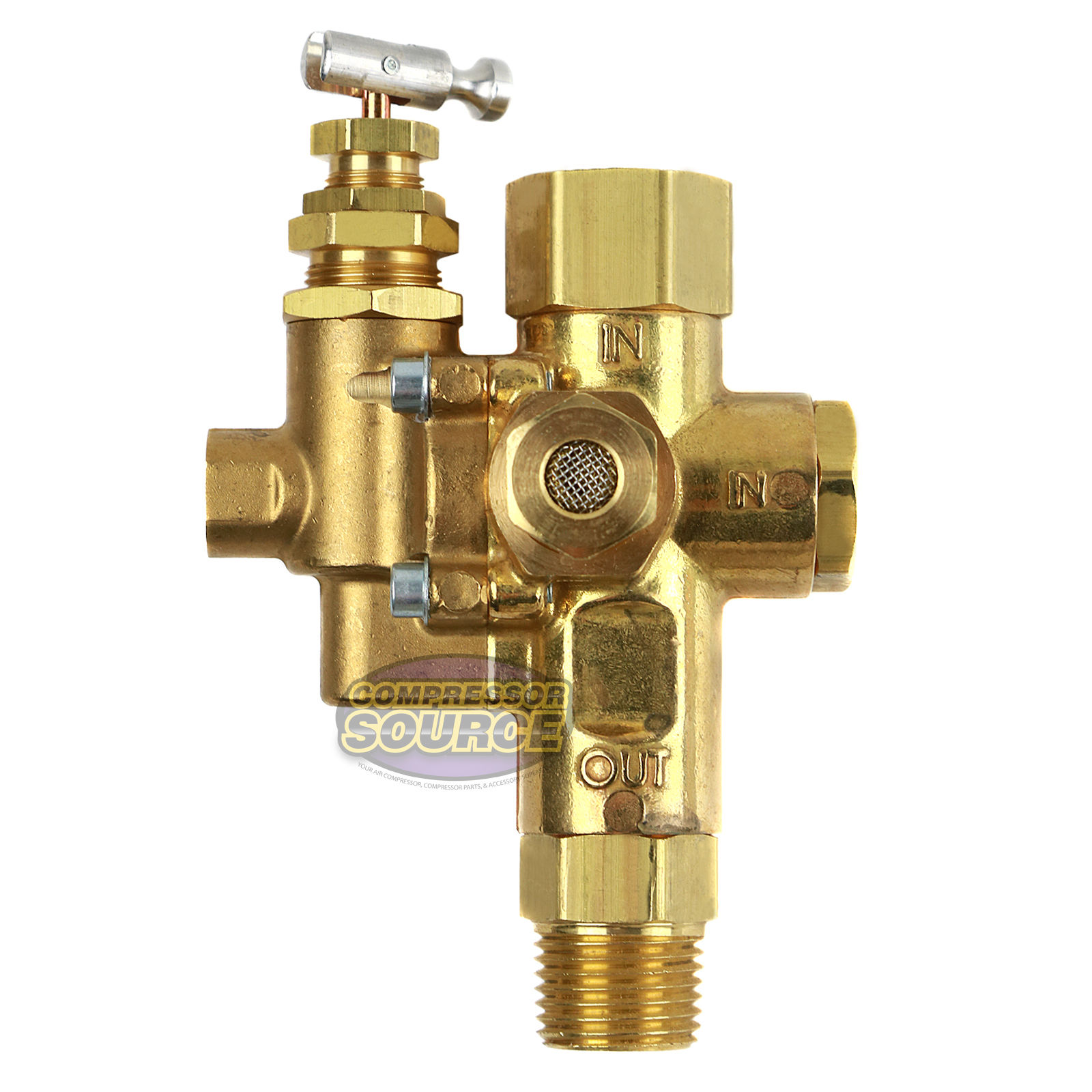 Gas Air Compressor Unloader Check Valve Combo 95 125 Ebay