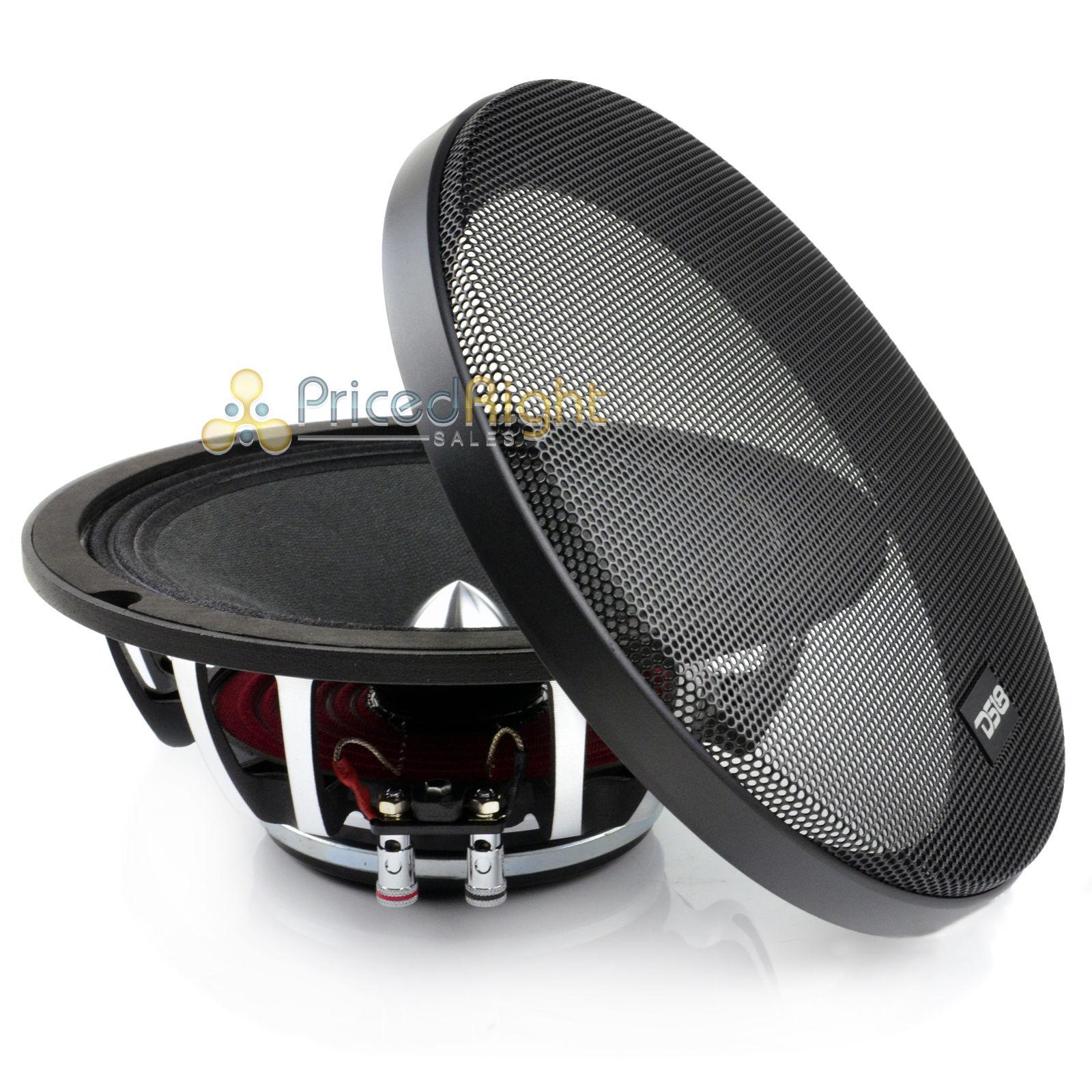 2 Ds18 8 U0026quot  Inch Midrange Speaker 500 Watts Max Power Pro