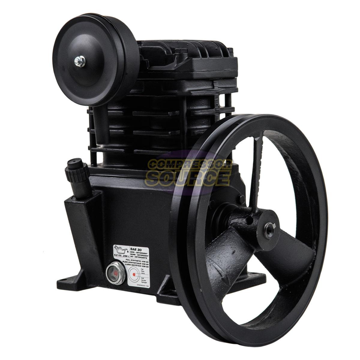 Replacement Air Compressor Pump >> Details About 2hp Replacement Air Compressor Pump For Campbell Hausfeld Vt4823 Cast Iron