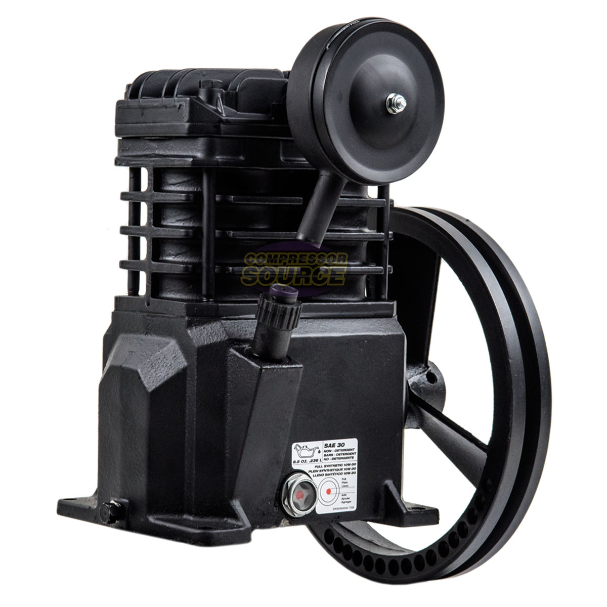 flywheel Campbell Hausfeld VT4823 2Hp Cast Iron Air Compressor Pump BRAND NEW