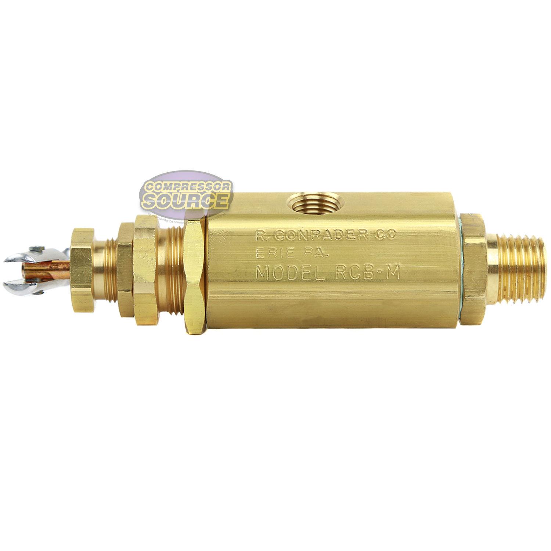 Compresor de aire válvula de escape rápido control//piloto del acelerador 125-150 Psi