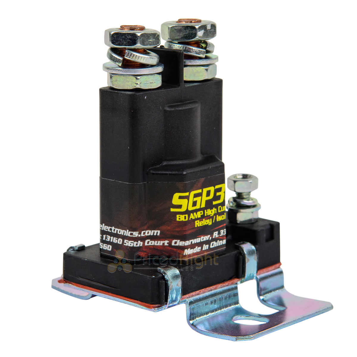 Stinger Sgp38 Power Relay Battery Isolator 80 Amps Car