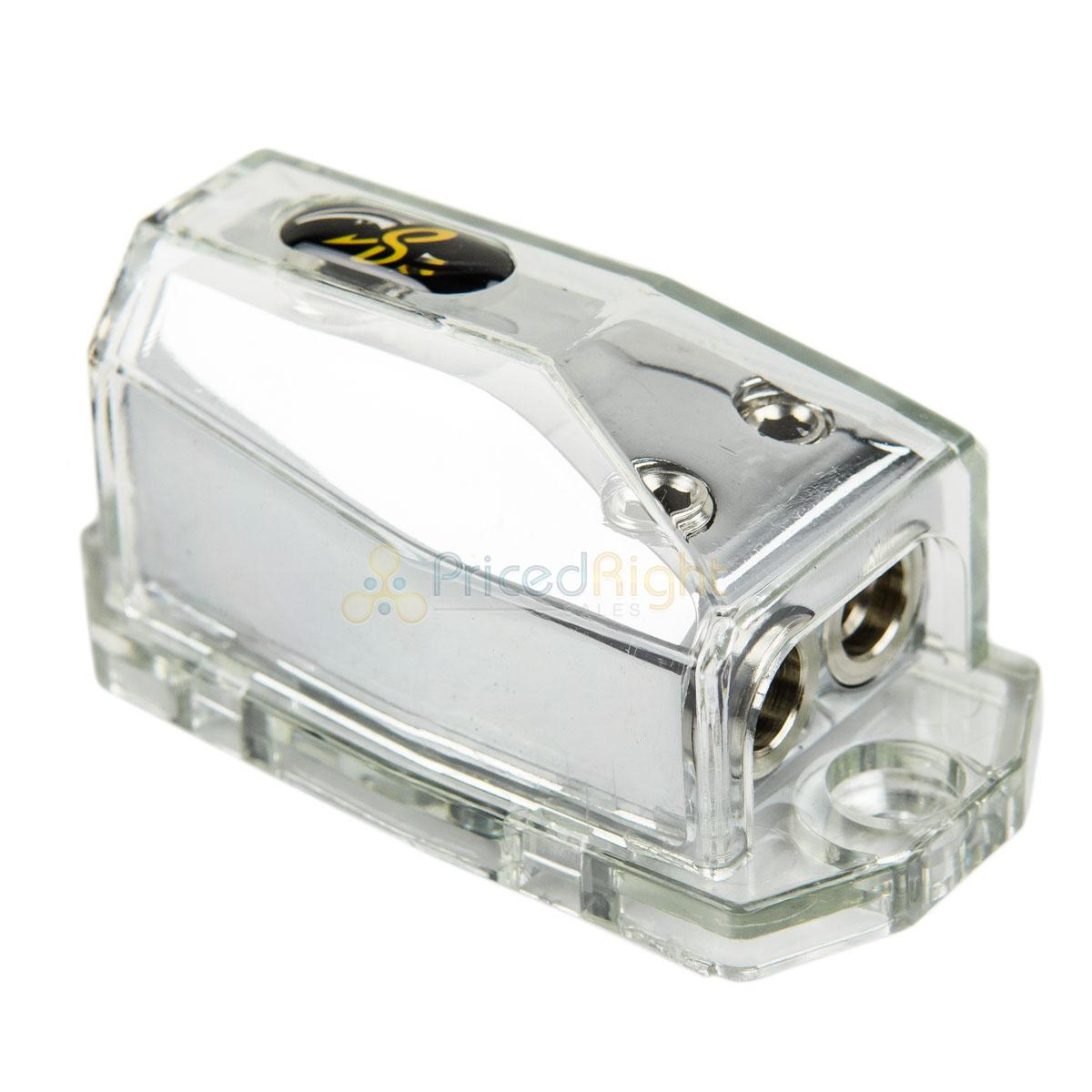 1//0Gauge Input 4Gauge Output 1 3 New Stinger Power Distribution Block SPD515