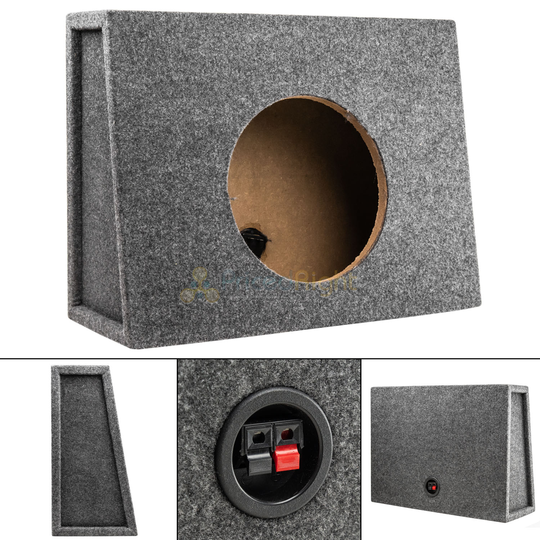 "Shallow Mount Sub Woofer Speaker Enclosure 12/"" Sealed Truck Box"