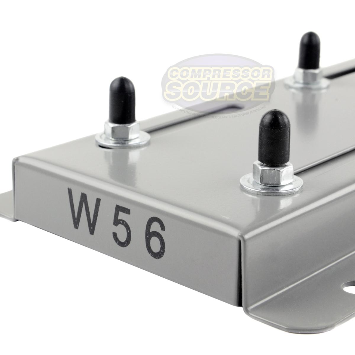 56 Frame Electric Motor Base Mount Adjustable Slide Plate Universal 56C Mounting