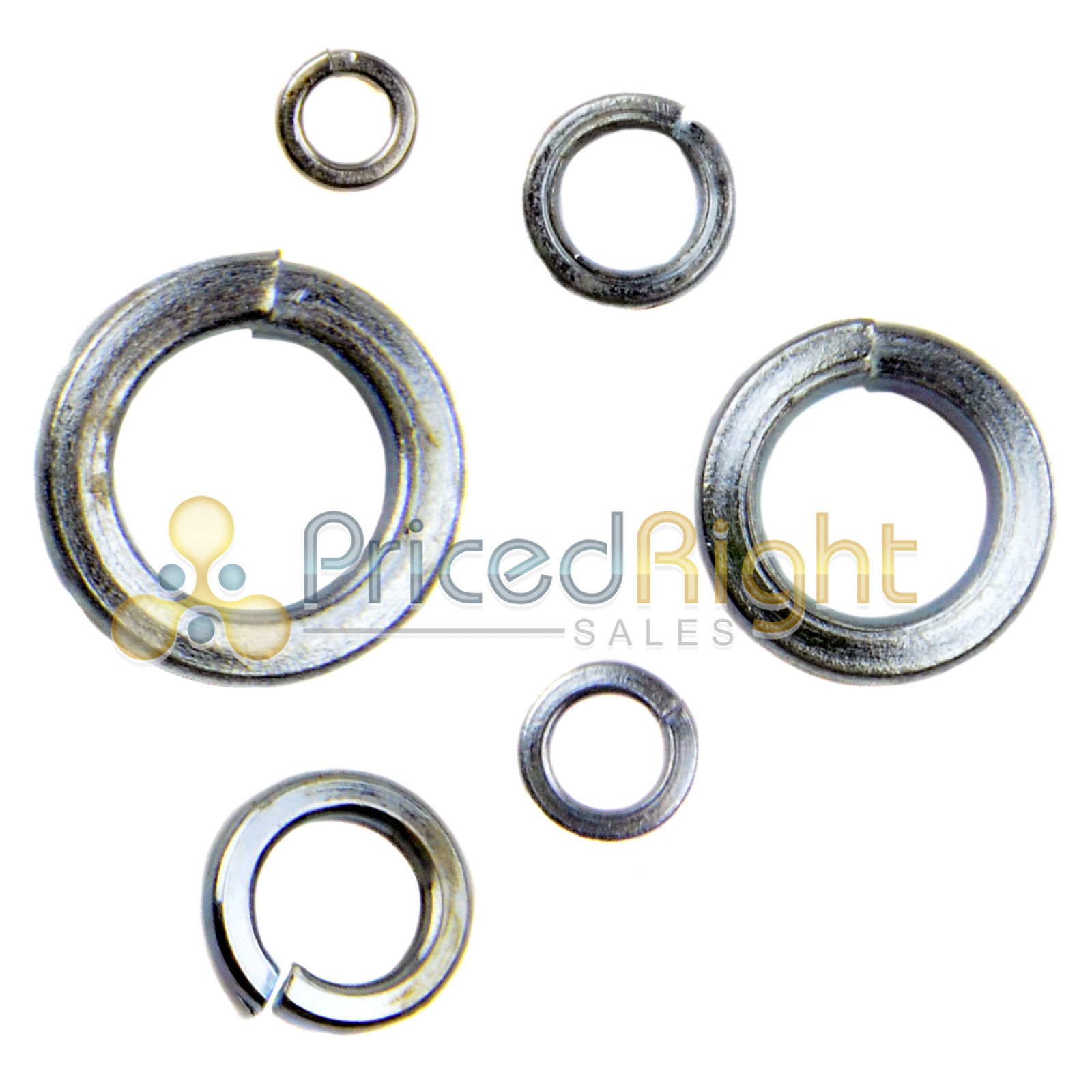 1200 Pc Lock Washer Assortment Hardware BR Tools Washers Industrial ...