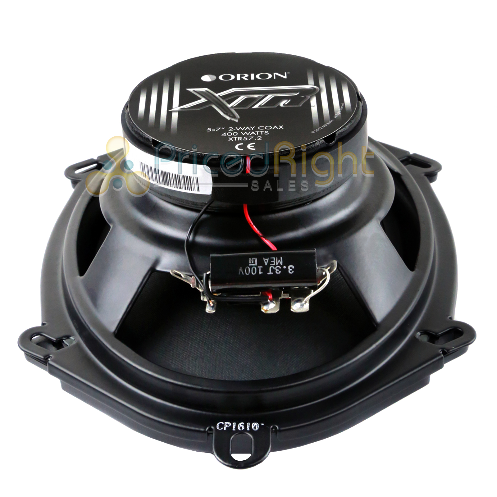 2 Orion Xtr572 Xtr 5 X 7 Coaxial Speakers Max Music Power 400 Subwoofer Wiring Watts 4 Ohm