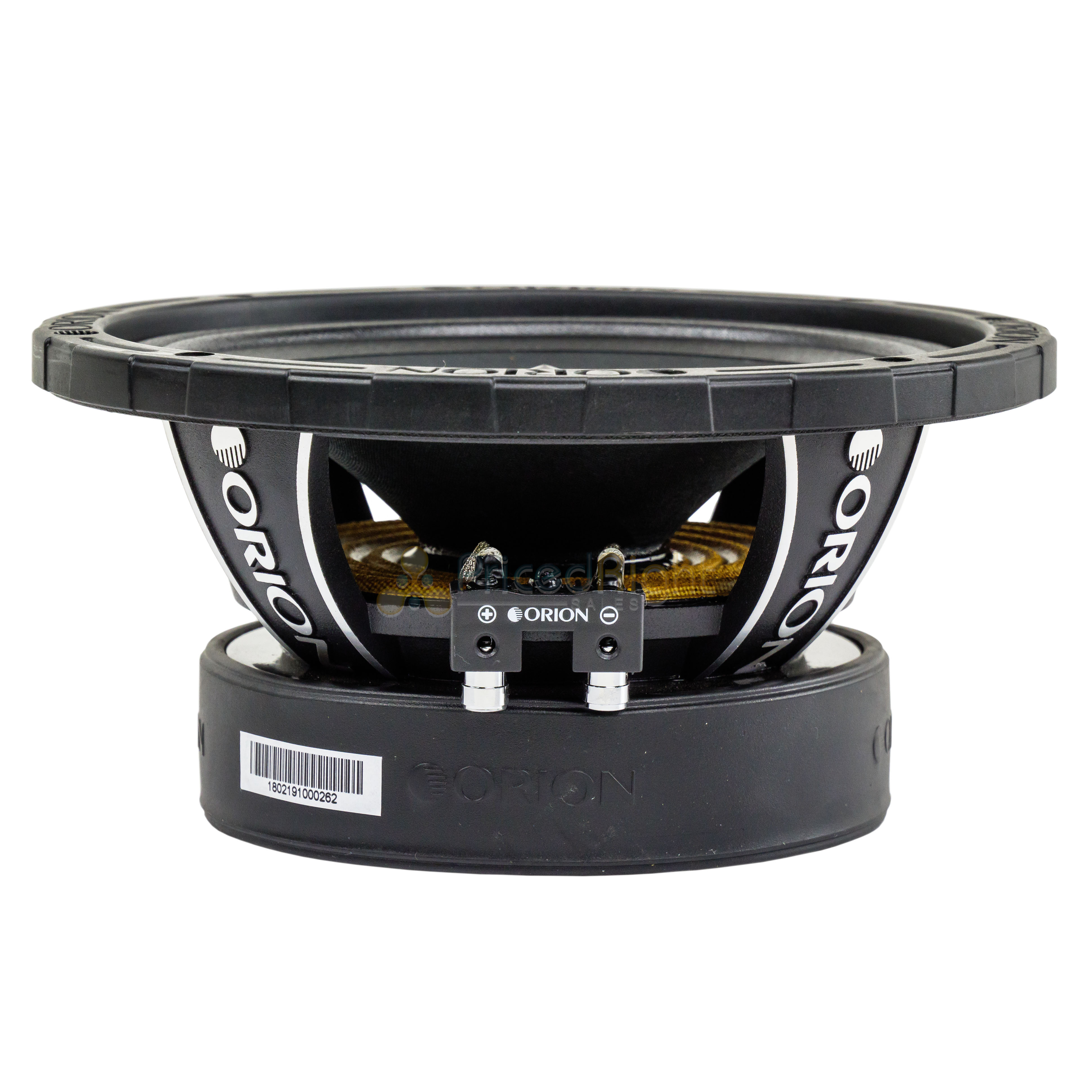 2 Orion Audio 1600 W Watt 8 U0026quot  Mid Range Bass Loud 8 Ohm Speakers Pair Xtx858 685650077147
