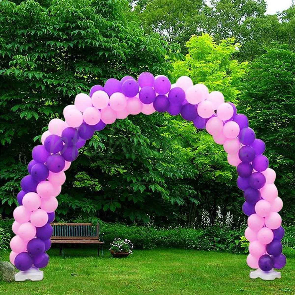 Large Balloon Arch Column Stand Frame Kit For