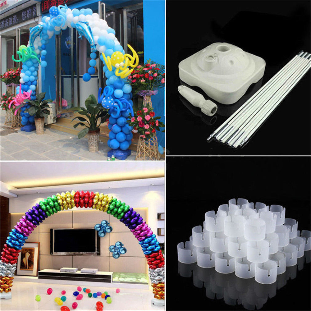 Large Balloon Arch Column Stand Frame Kit for Birthday Wedding Party ...