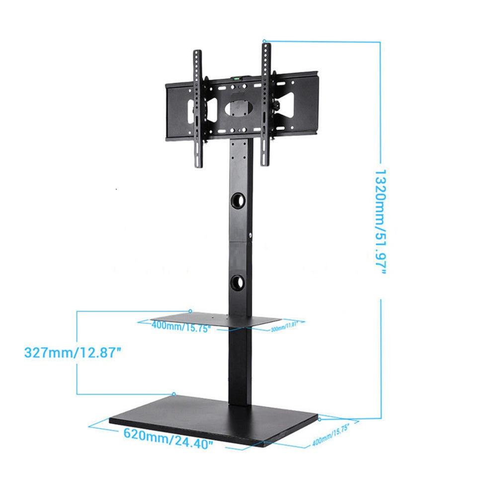 32 65 Quot Floor Tv Stand Tilt Mount Bracket With Component