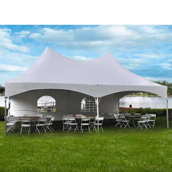 Commercial Party Tent 20u0027 x 30u0027 High Peak Frame Wedding Event Canopy Waterproof  sc 1 st  eBay & Commercial Party Tent 20u0027 x 30u0027 High Peak Frame Wedding Event ...