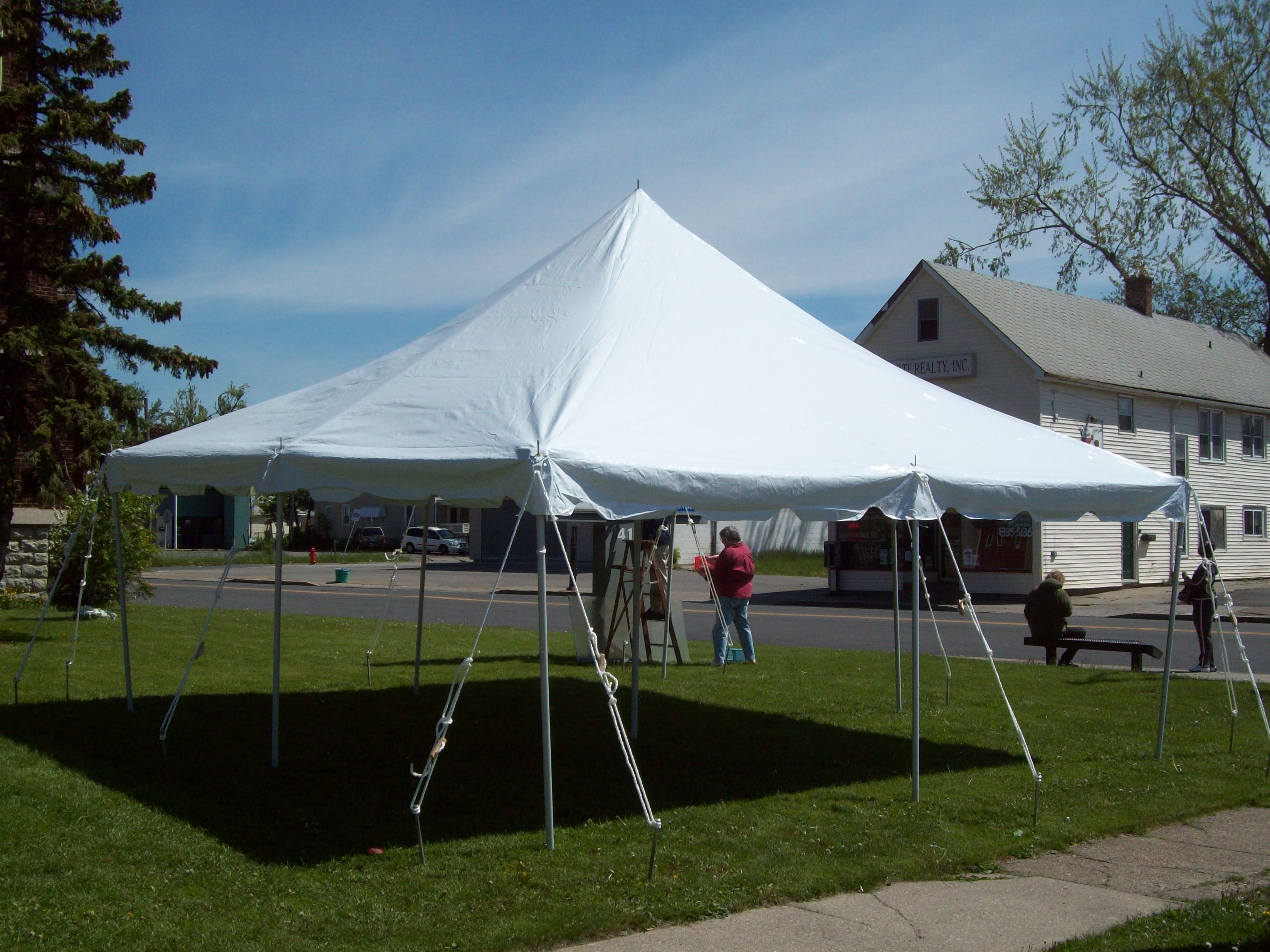 Canopy-Tent-Top-for-Commercial-Pole-Tent-16- & Canopy Tent Top for Commercial Pole Tent 16 oz Vinyl TOP ONLY ...