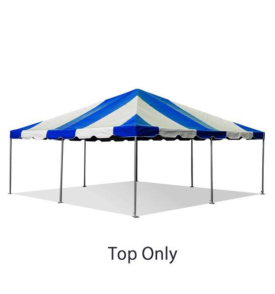 20x20\' Tent Top 16oz Block-out Premium Vinyl West Coast Frame ...