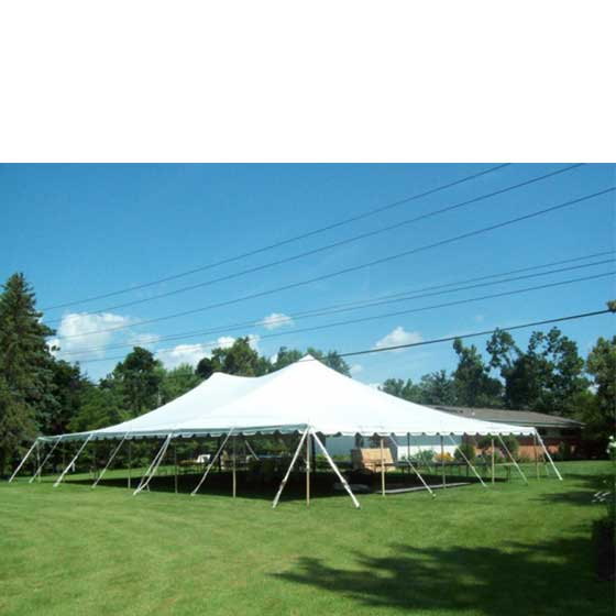 Commercial 40 x 60 Ft. Sectional Canopy White Pole Tent  sc 1 st  eBay & 40x60u0027 Sectional Canopy Pole Tent Heavy Duty Commercial Wedding ...