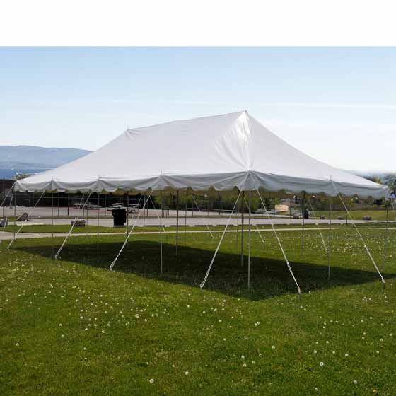 20 x 40 Pole Tent Party Wedding Canopy Commercial Lightweight Marquee & 20x40 Pole Tent Party Wedding Canopy White Commercial Light Weight ...