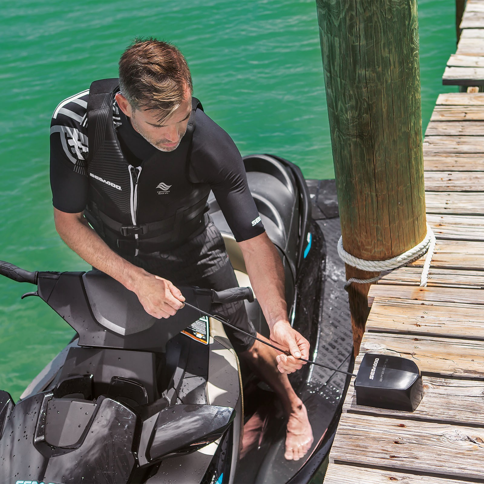 Details about SEA-DOO SPEED TIE FOR DOCK #295100336