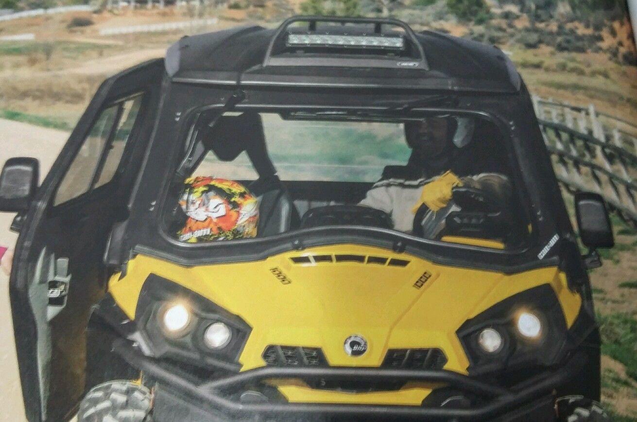 Can Am Commander Rigid Cab Enclosure Complete Kit