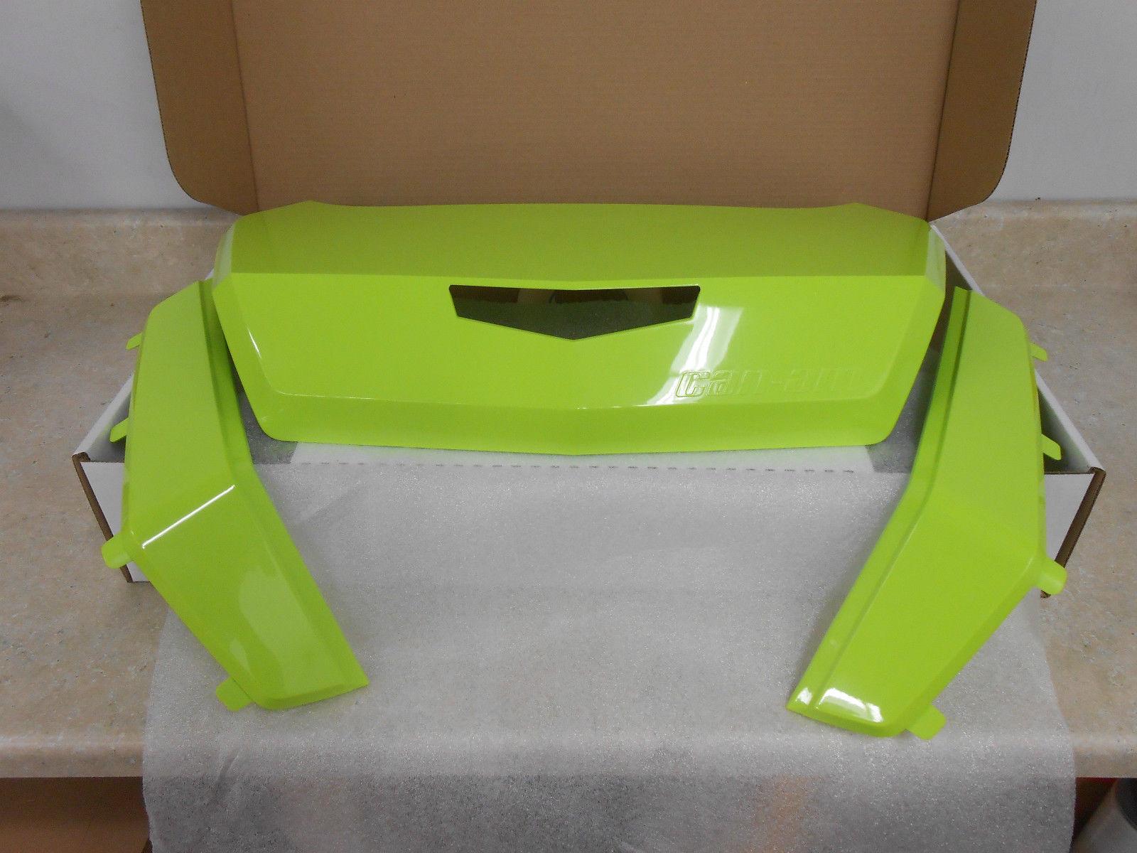 CAN-AM OUTLANDER /& MAVERICK 32 GAL.TRUNK BOX PANEL KIT MANTA GREEN #715002985