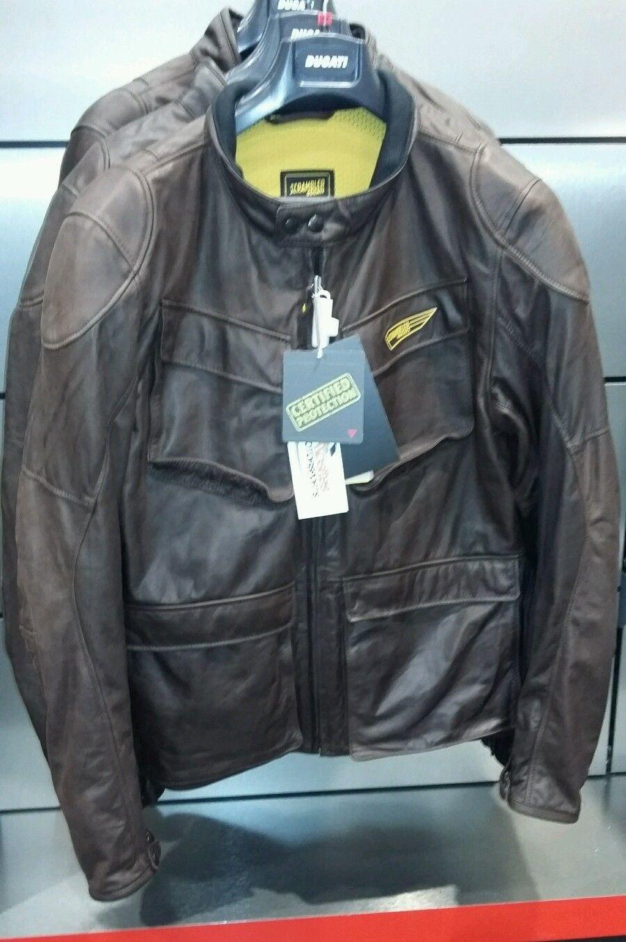 ducati quattrotasche scrambler leather jacket all sizes 9810312 | ebay