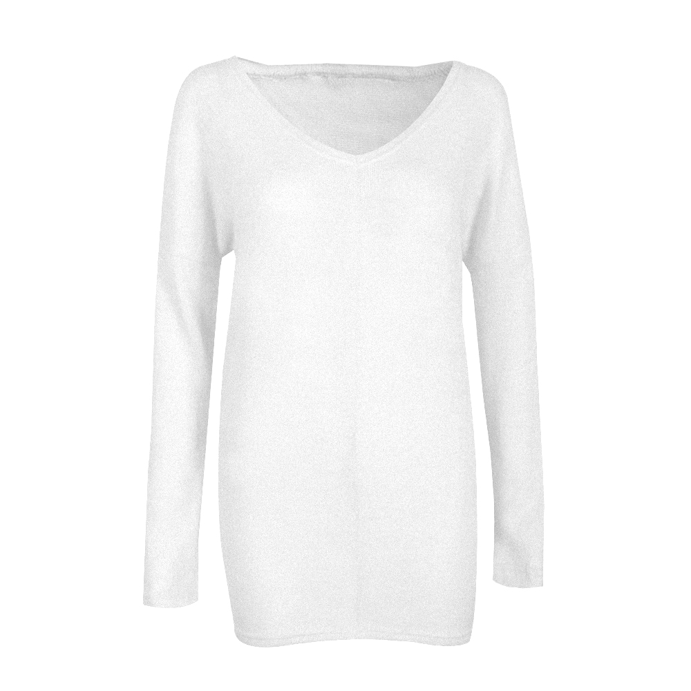 Fashion Women Baggy Sweater Long Sleeve Loose Fit Pullover Tunic ...