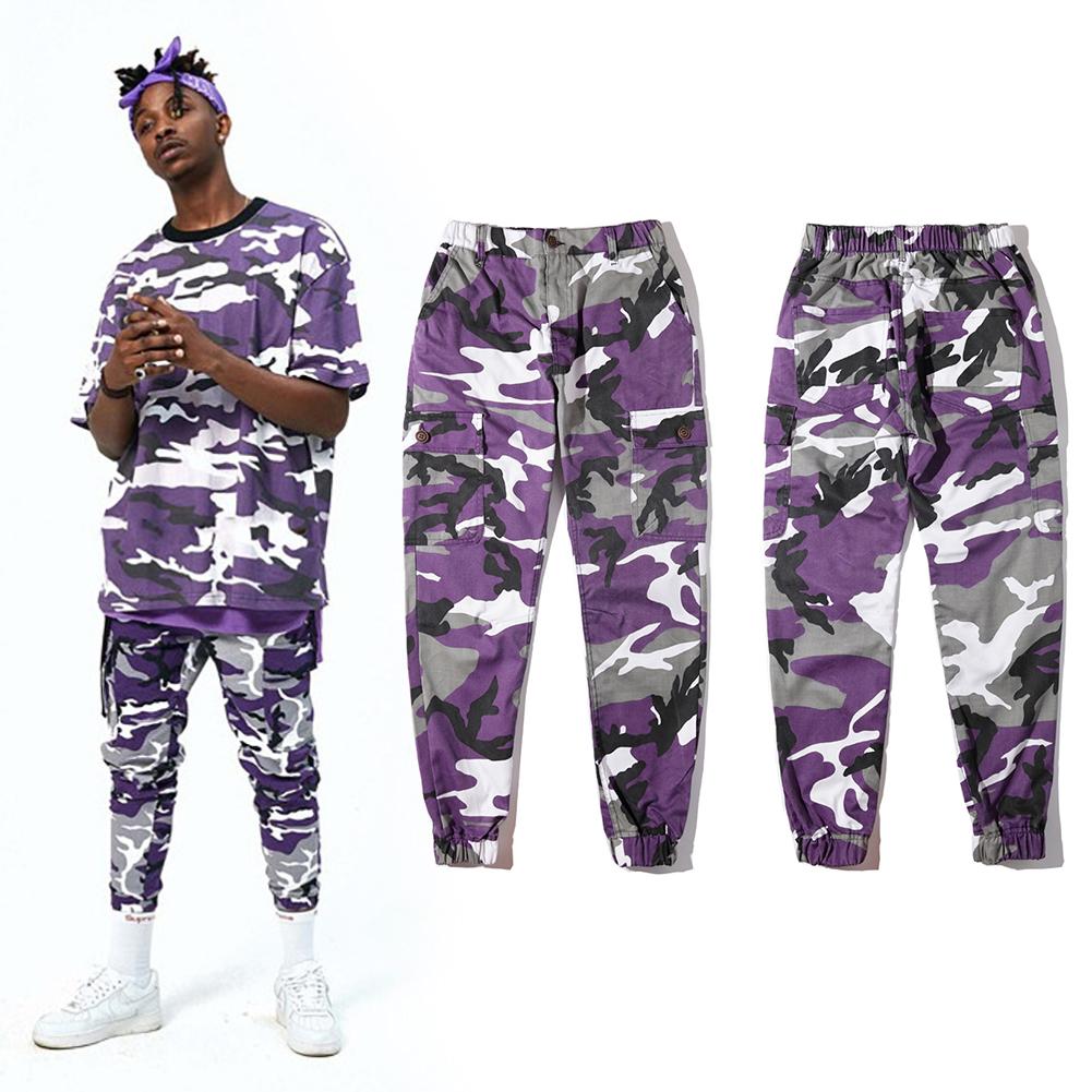 trousers hip hop fashion camo sports casual harem pant baggy streetwear slacks ebay. Black Bedroom Furniture Sets. Home Design Ideas