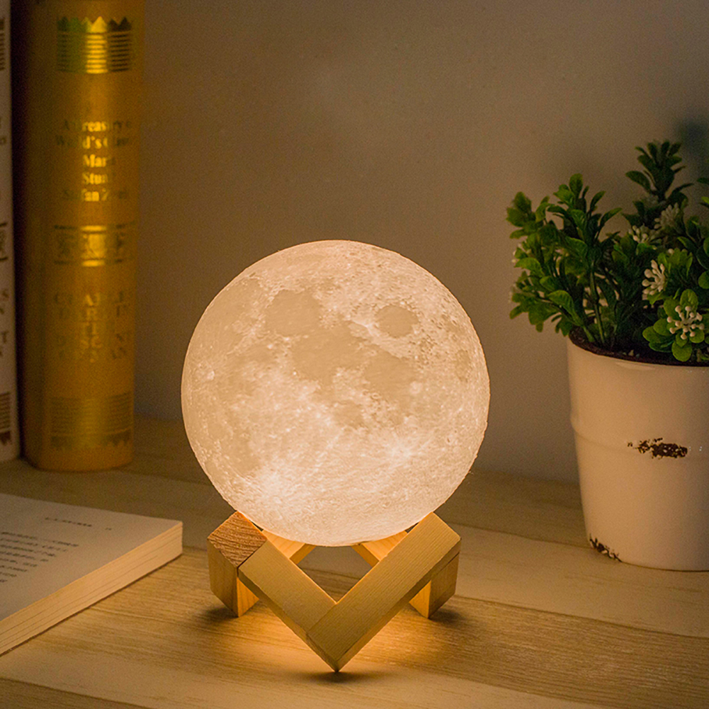 LED-Night-Light-Luna-Moon-3D-Magical-Lamp-Desk-Touch-Control-USB-Xmas-Gift