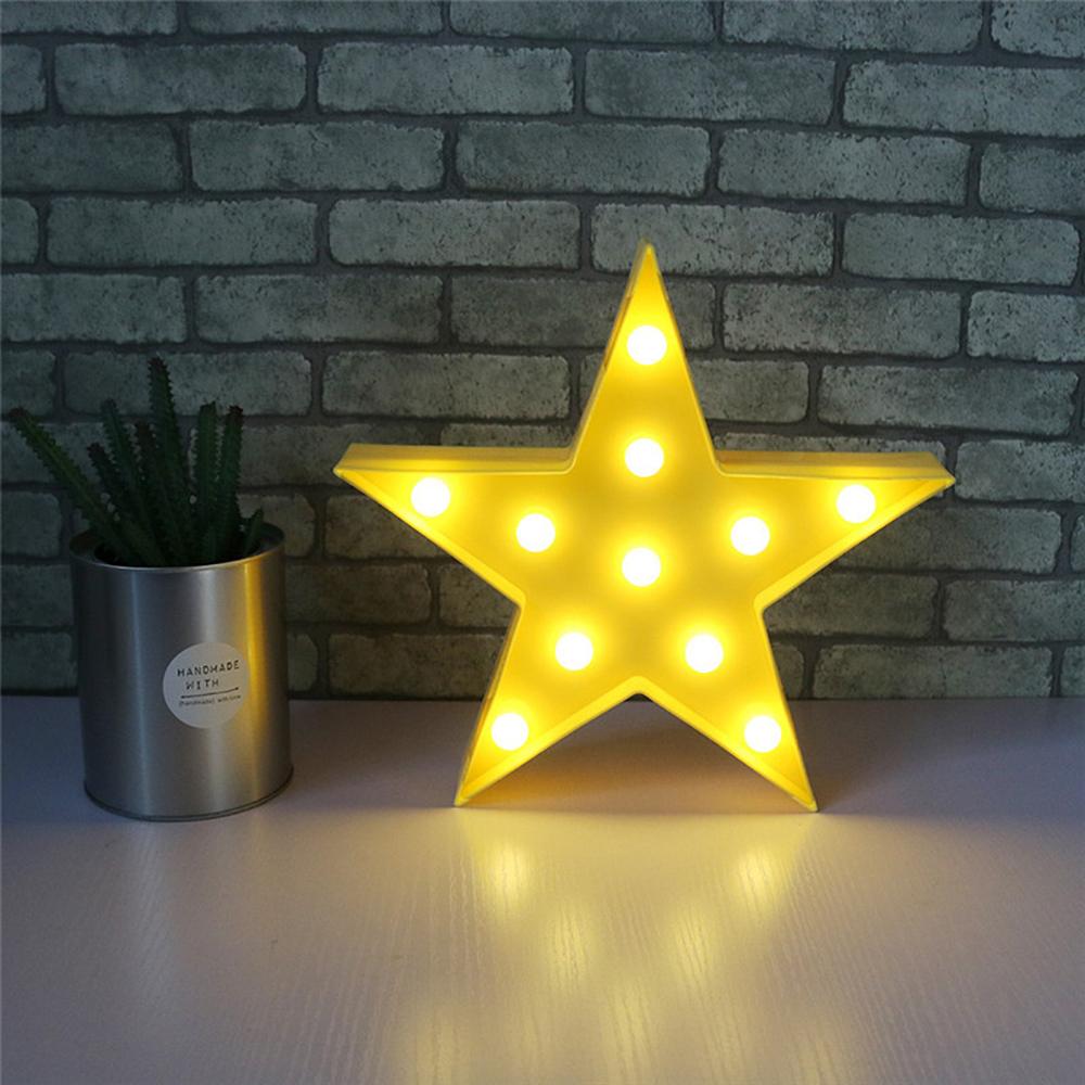 Night Light Kids Cloud Moon Bedroom Lamp Star LED Decor Home Wall ...