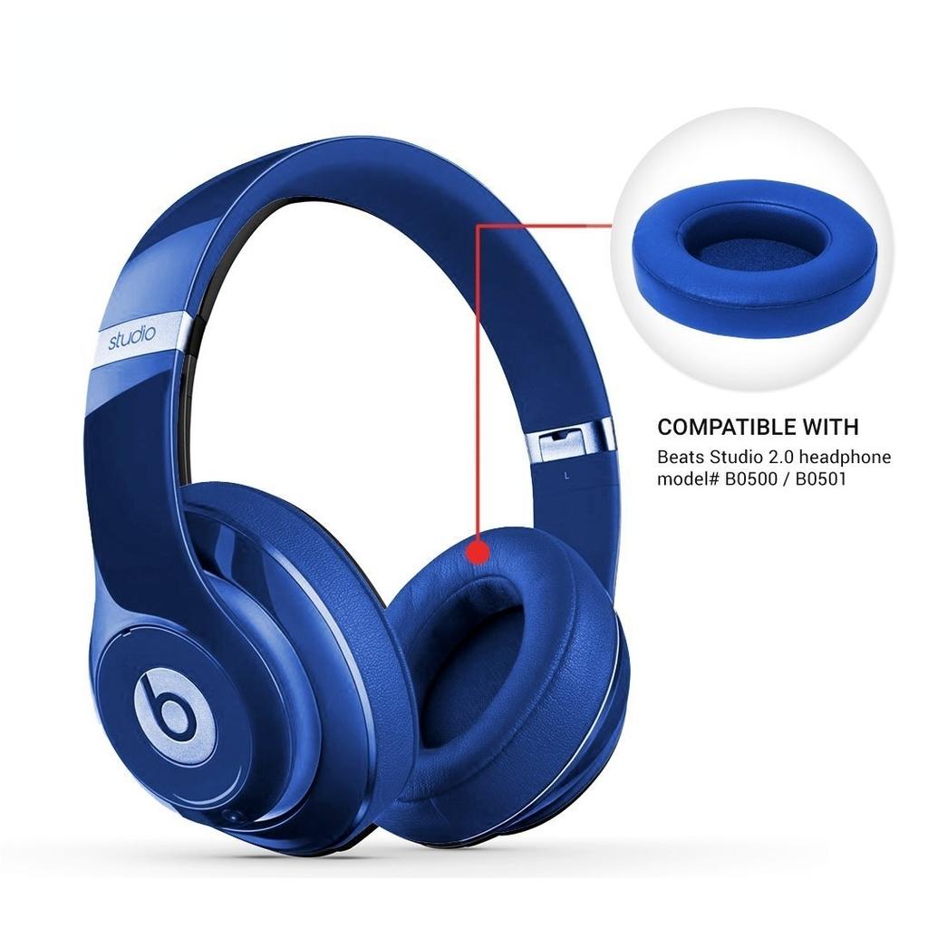 reytid-Beats-By-Dr-Dre-Studio-2-0-Inalambrico-Reemplazo-Almohadillas-Oido-Cojin-Kit