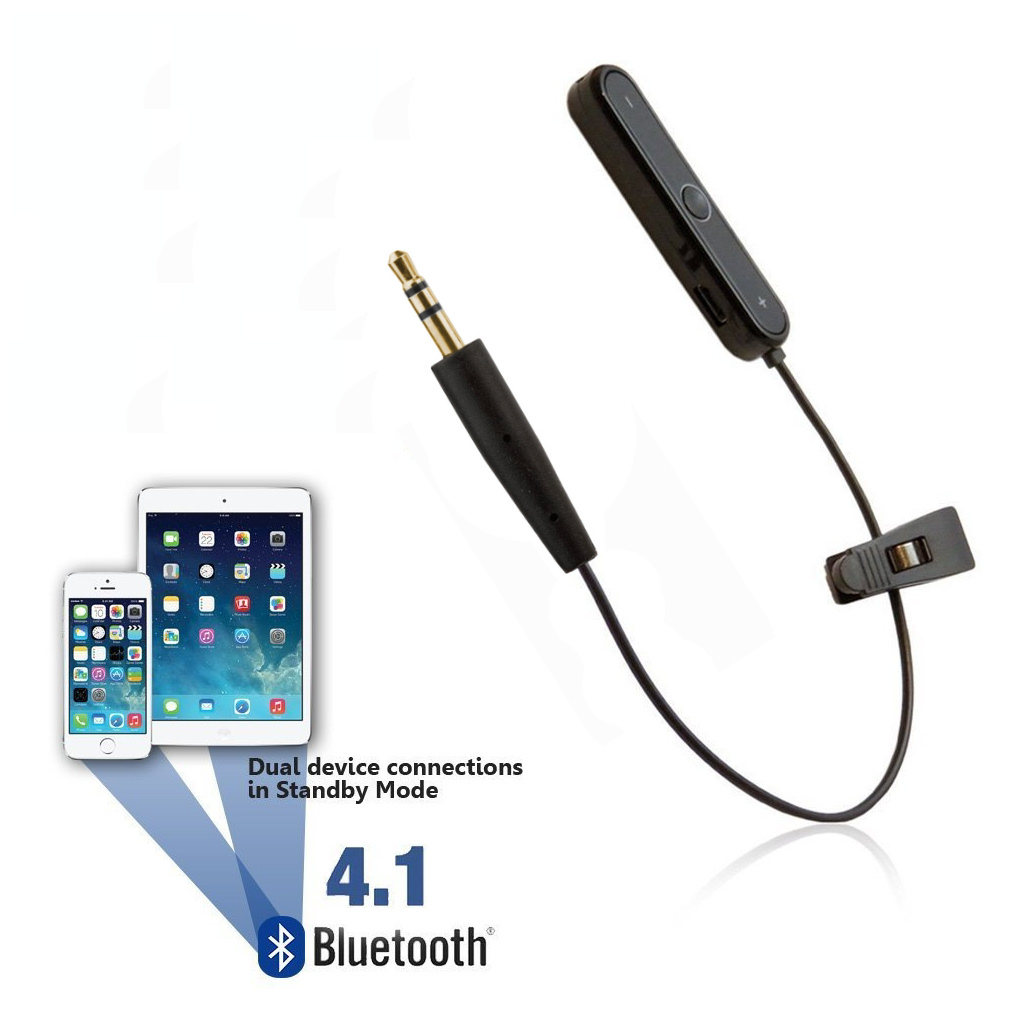 [reytid] Bose Quietcomfort 25 Qc25 Wireless Bluetooth Converter Cable Lead - Iphone Android
