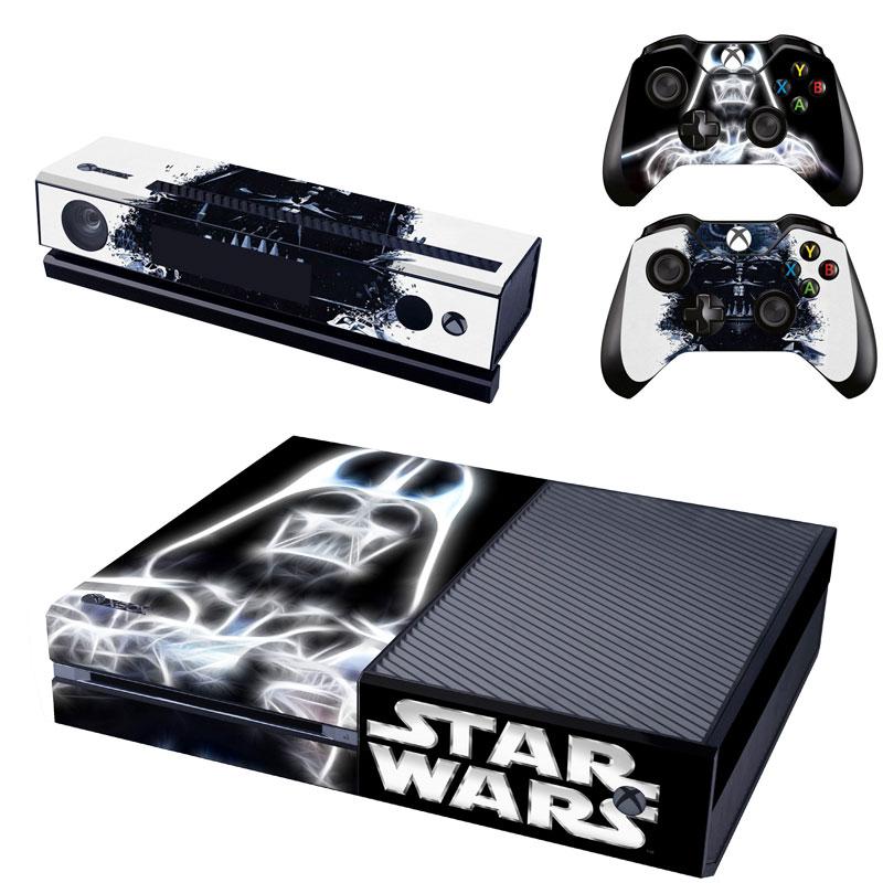 [reytid] Xbox One Console Skin / Sticker + 2 X Controller Decals & Kinect Wrap - Darth Vader