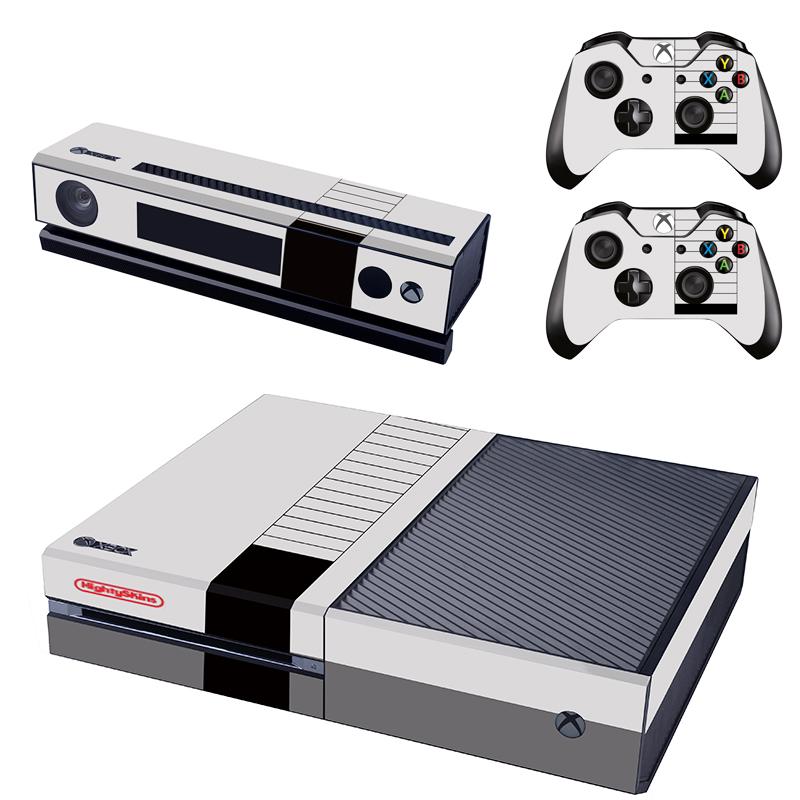 [reytid] Xbox One Console Skin / Sticker + 2 X Controller Decals & Kinect Wrap - Nintendo