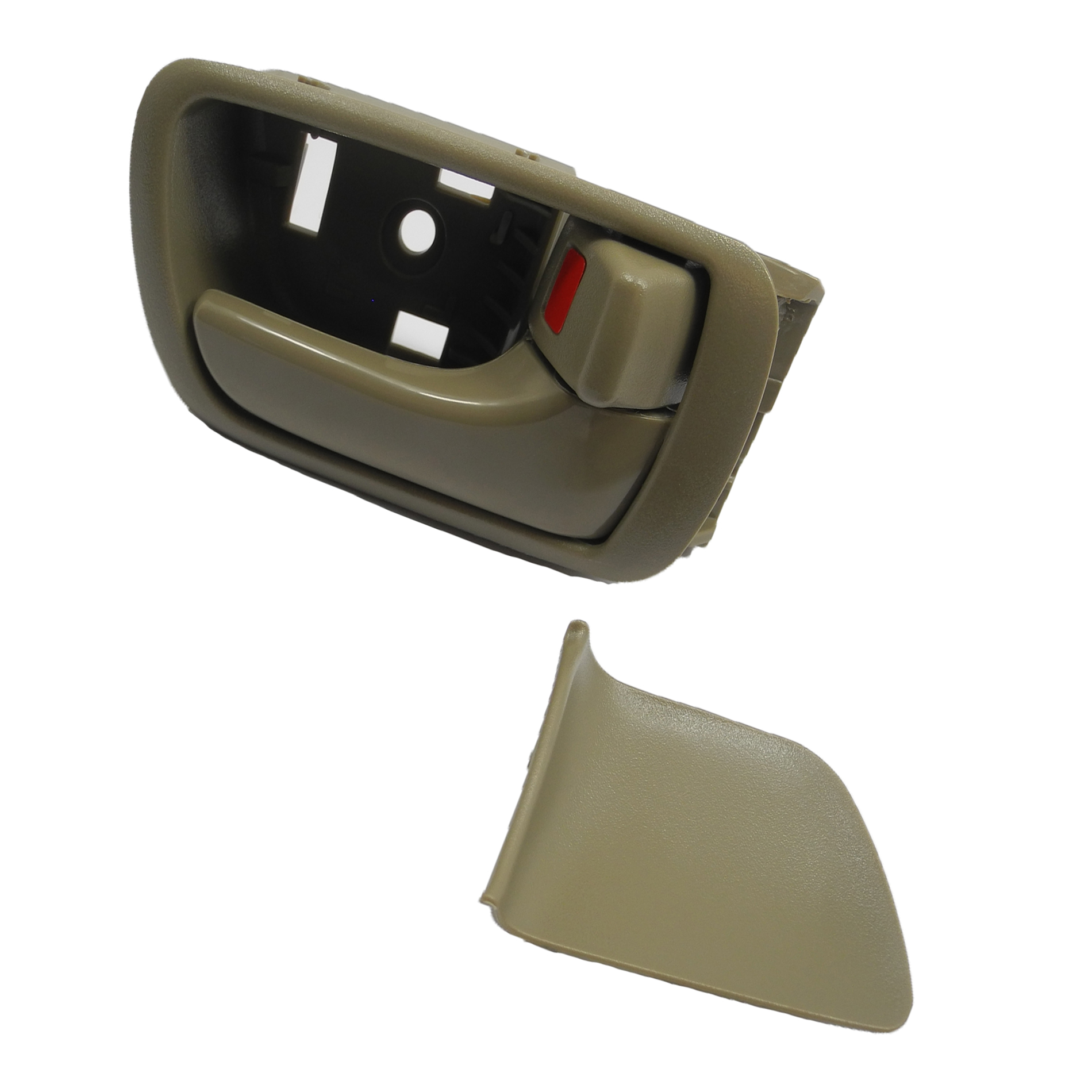 MotorKing For 2002 2003 2004-2006 Toyota Camry B557 Right Inside Door  Handle Tan