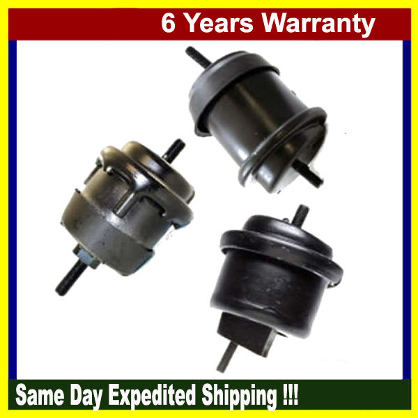 M990 For Chevrolet Traverse GMC Acadia Buick Saturn 3.6L Motor /& Trans Mount SET