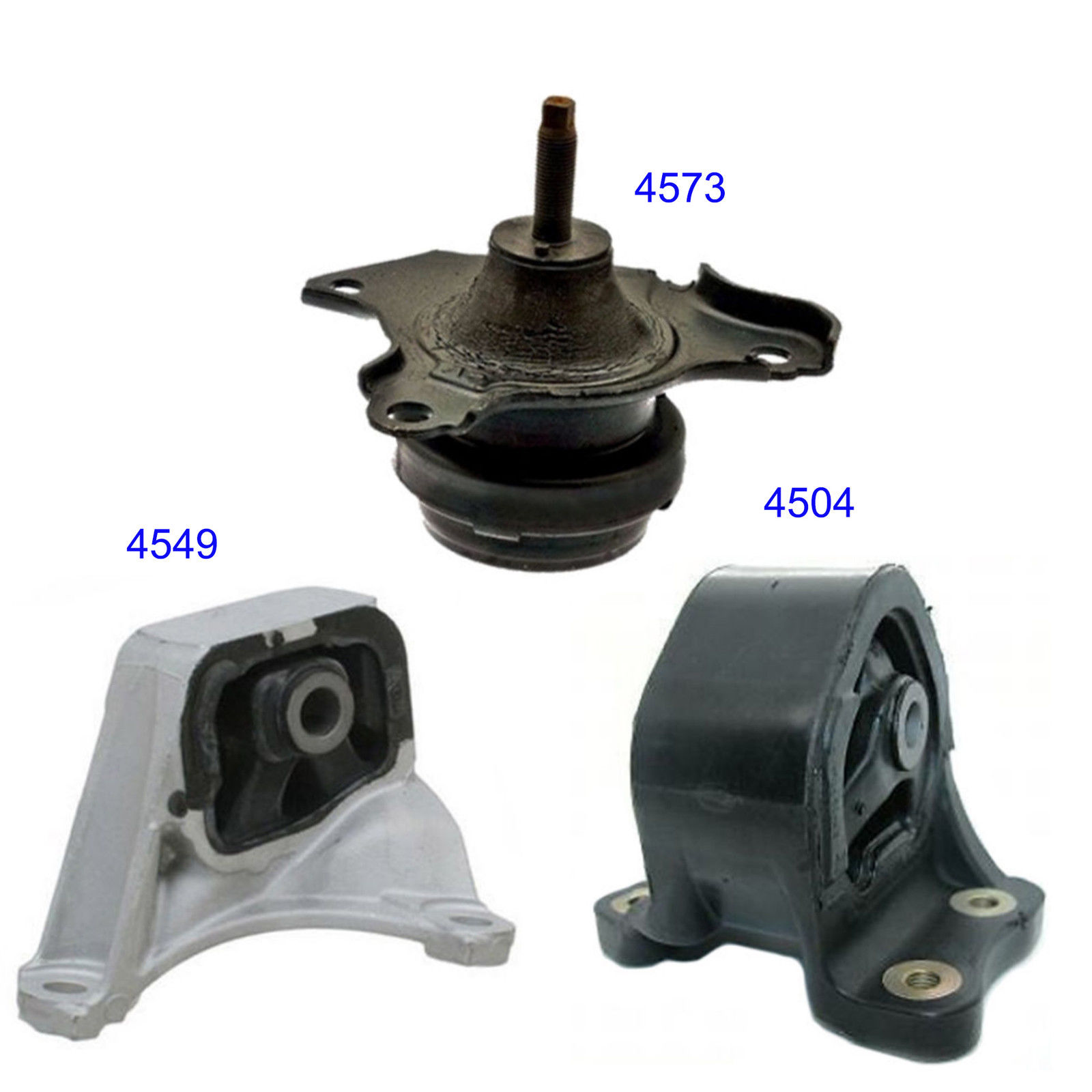 Engine Motor Mount Set 3PCS M1102 2003-2011 For Honda Element 2.4L Manual Trans