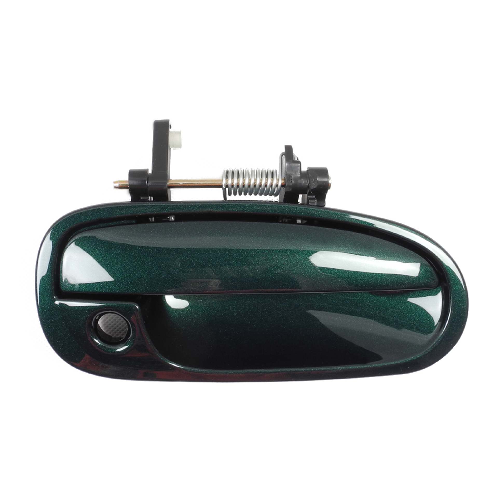 96-00 For CIVIC Front Right G95P Clover Green Pearl Outside Door Handle B3953 Car & Truck Exterior Parts