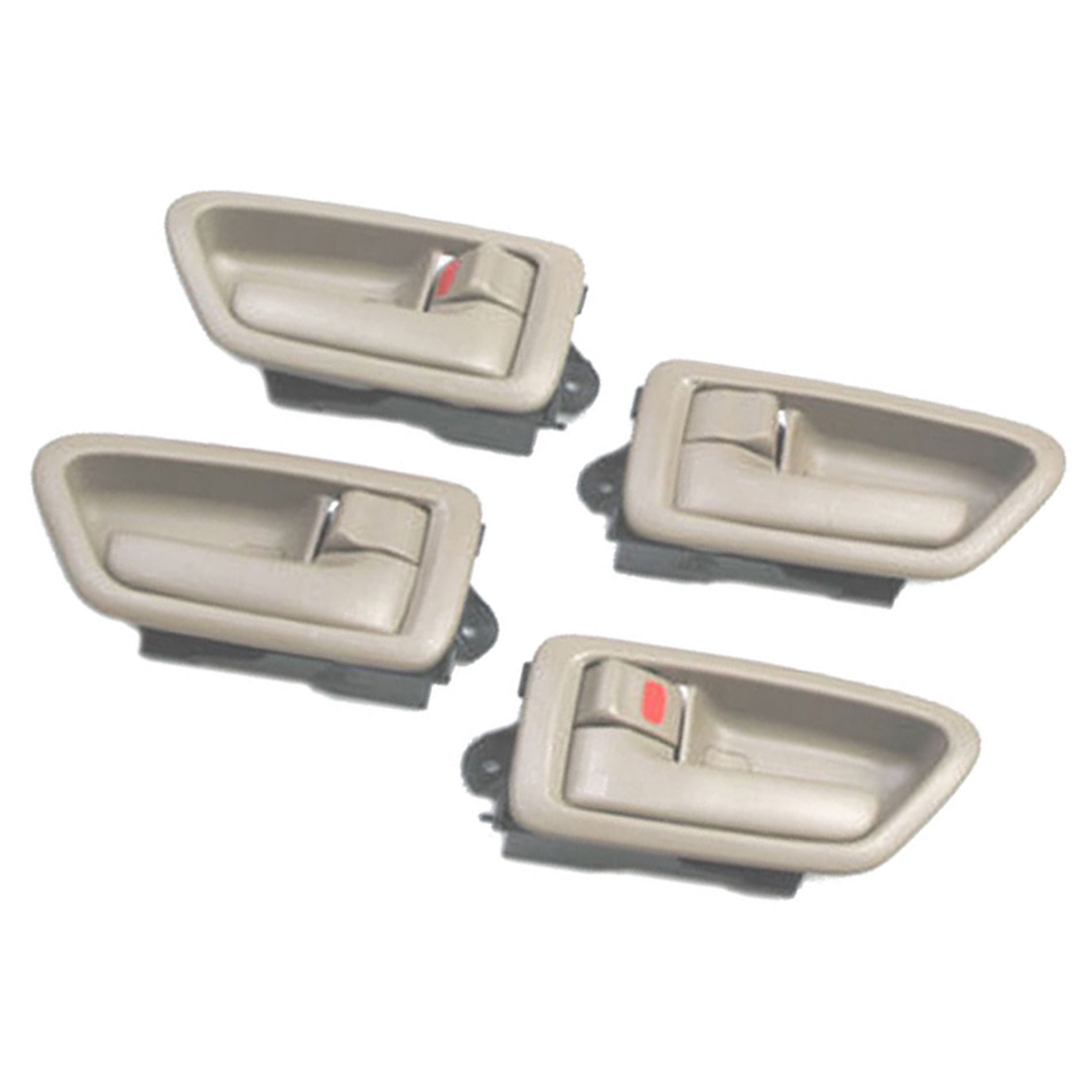 New Door Handle for 1997-2001 Toyota Camry Inside  Left /& Right Set  of 4