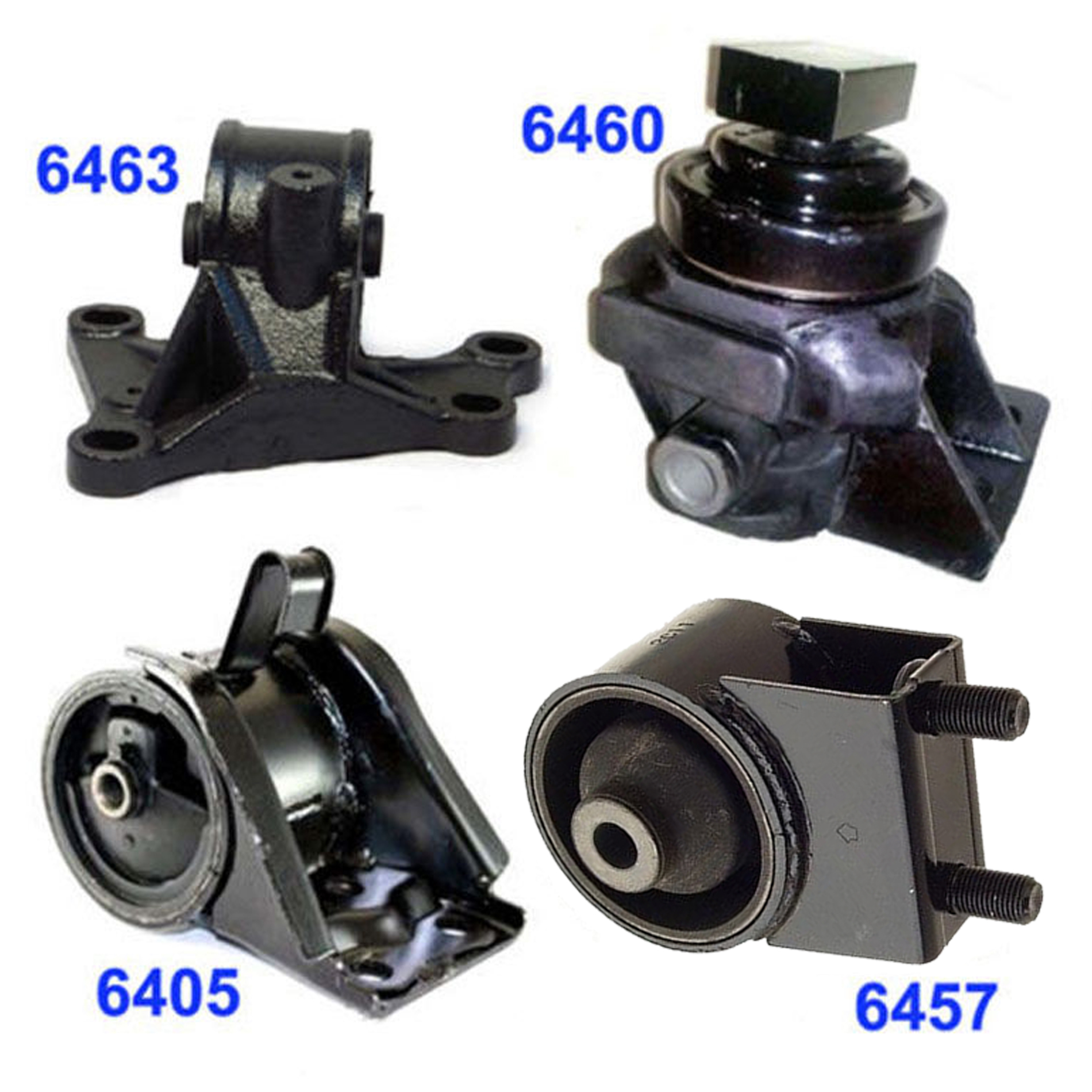 1994-1999 Mazda 626 2.0 Engine Motor /& Trans Mount Set 4PCS for Auto Trans M1017