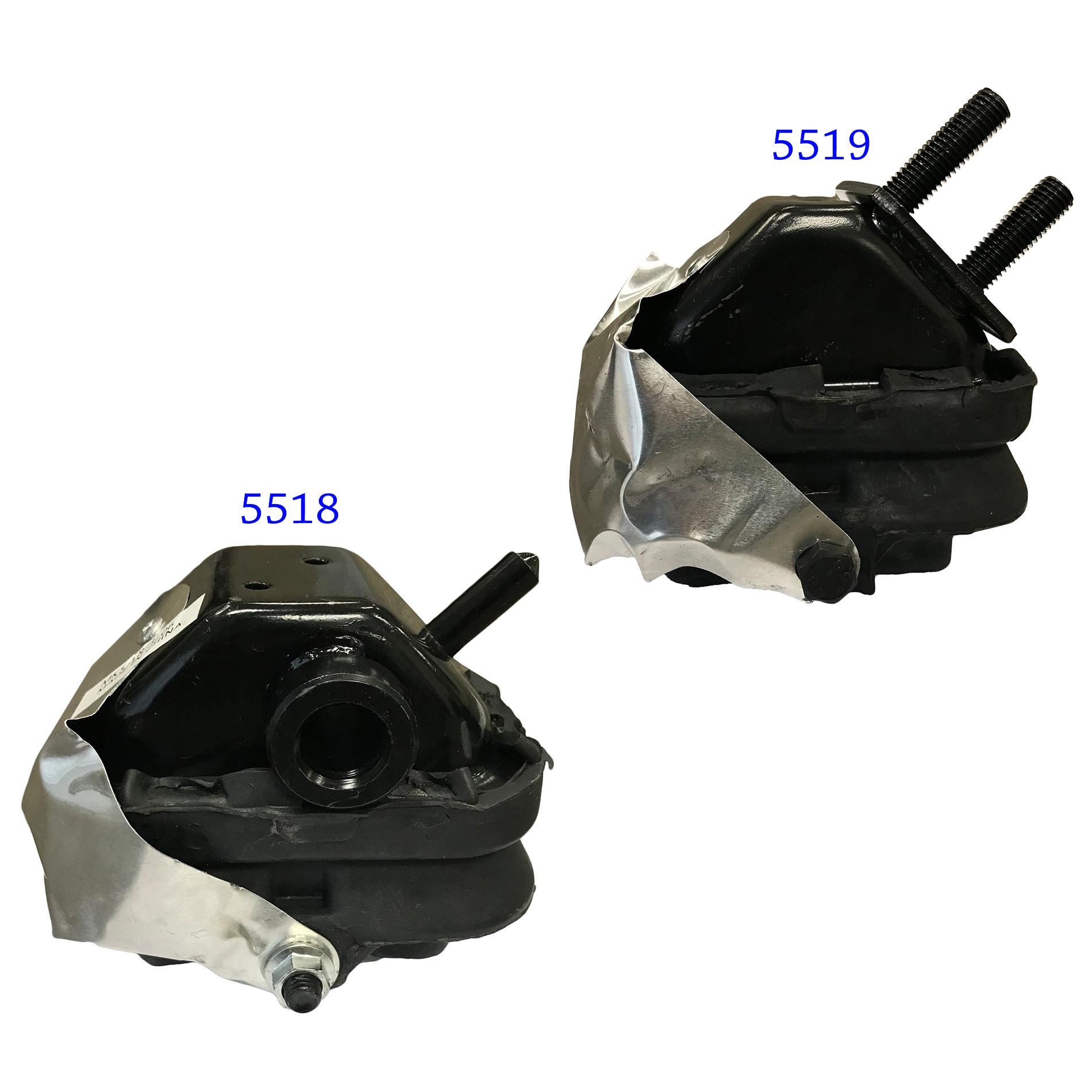Front Left /& Front Right Motor Mounts Set 2PCS for 05-08 Ford F-150 V8 4.6L//5.4L