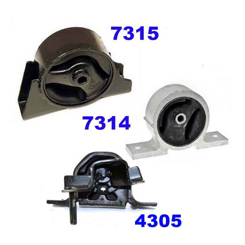 ENGINE MOUNT FITS NISSAN SENTRA L4 1.8L 00-06//2.0L 00-01